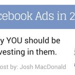 5 reasons you should buy facebook ads in 2016