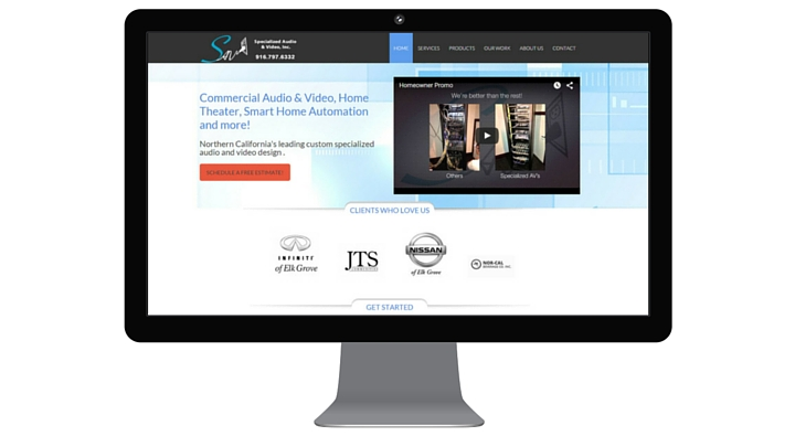Specialized Audio video website