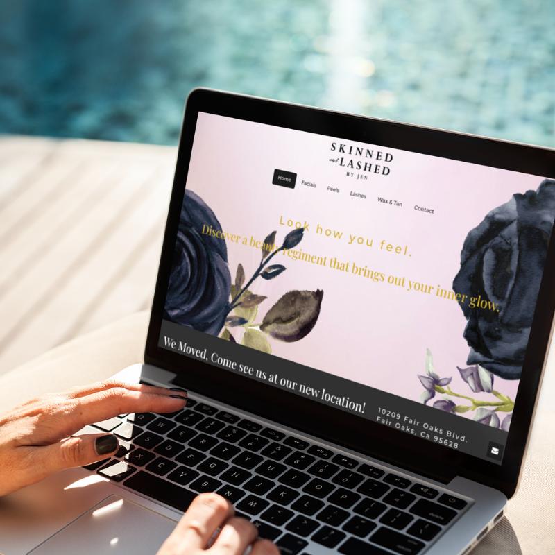 web design for salons
