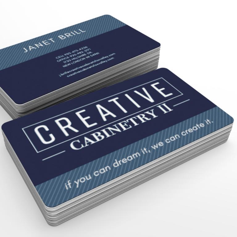 business card design contractors