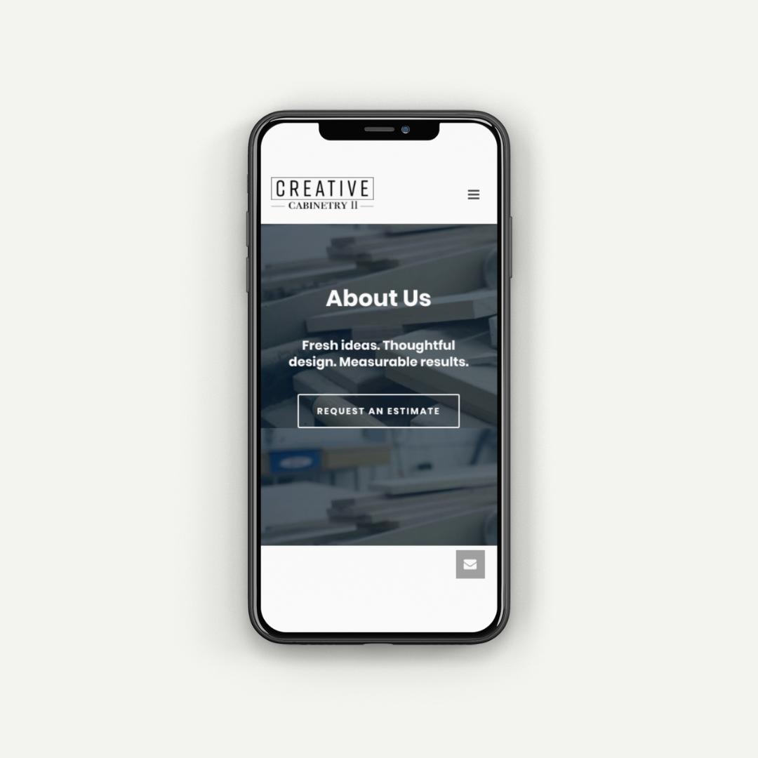 mobile web design for contractors