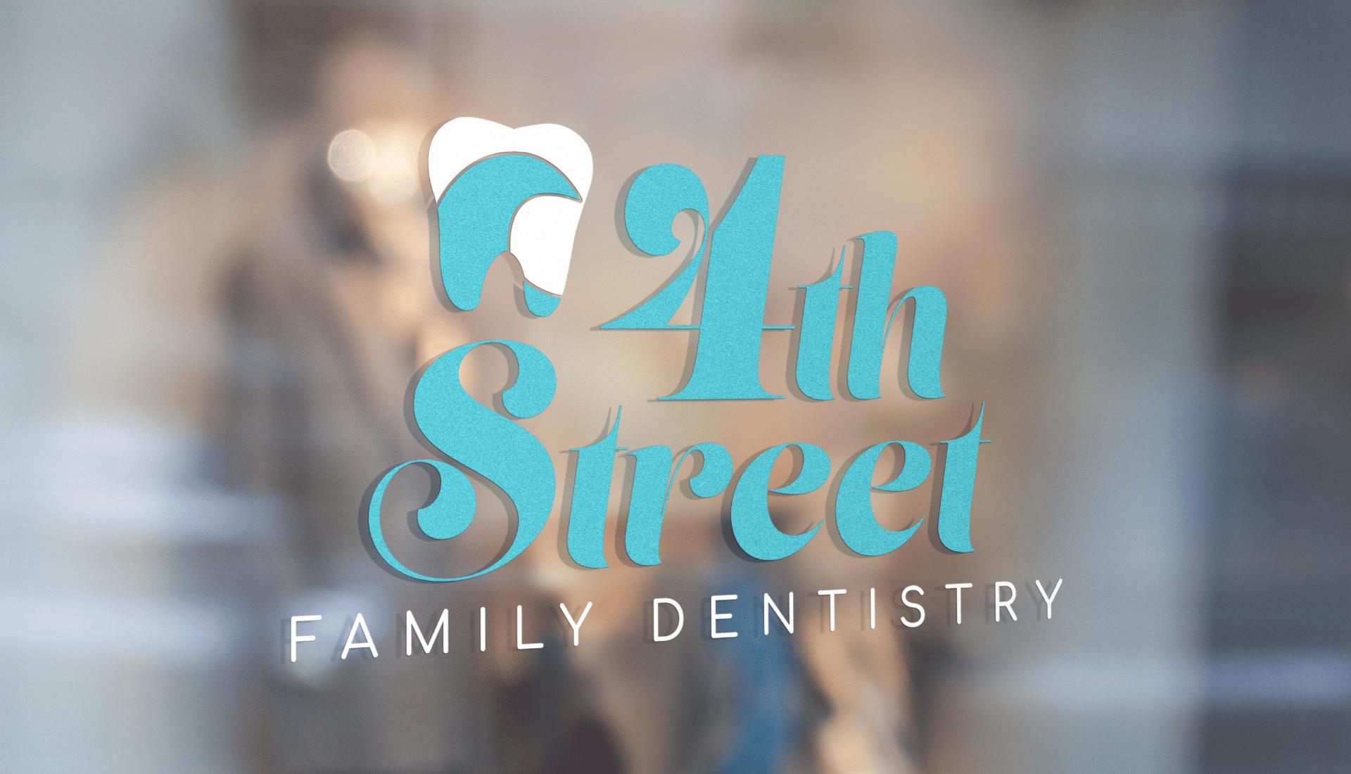 4th street family dentistry logos