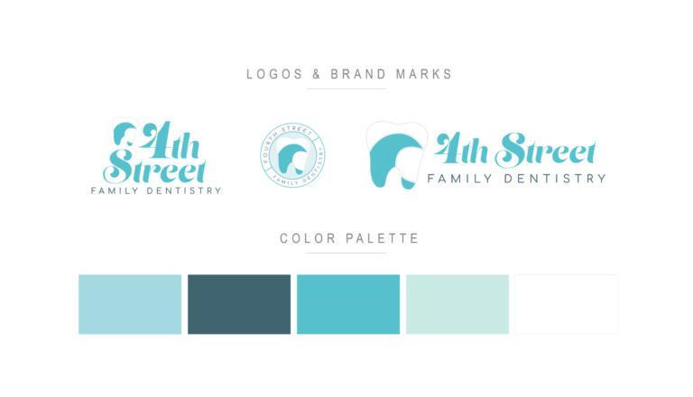 beautiful dental logos