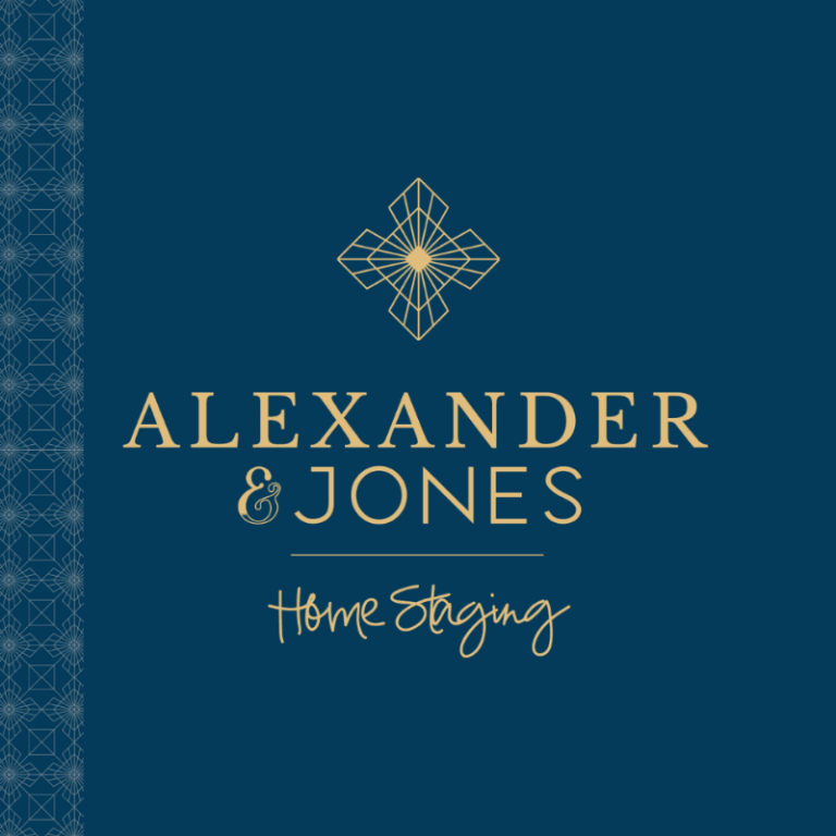 Alexander and jones home staging logo