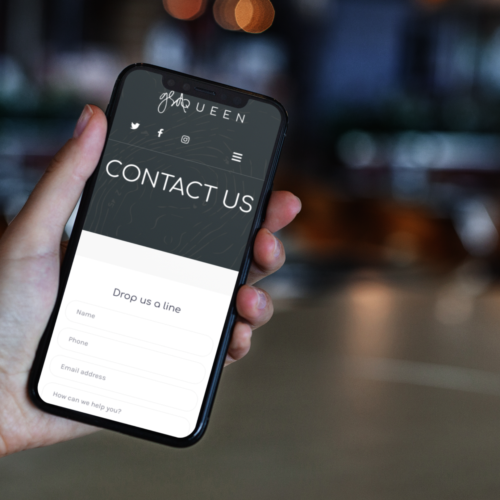 mobile web design for coaches