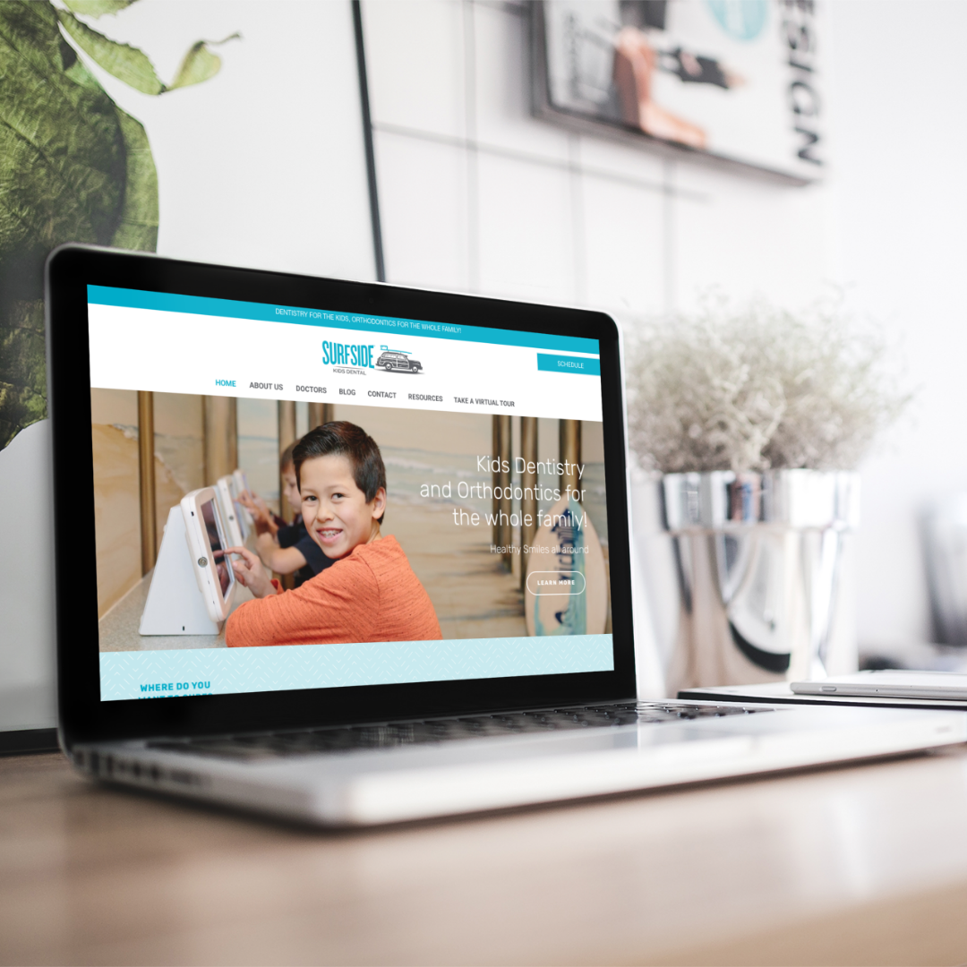 Surfside Kids Dental- Web design