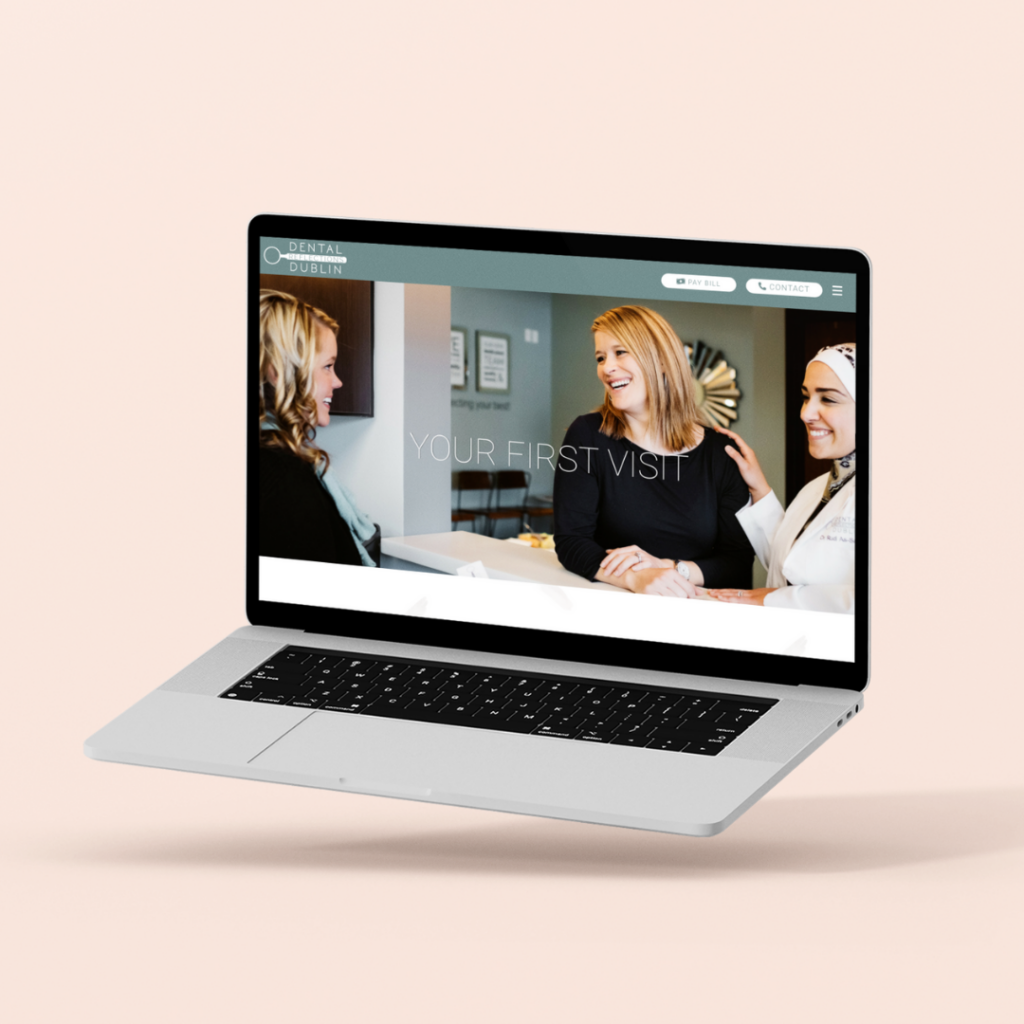 dentist web design