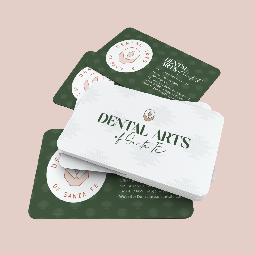 business cards for dentists